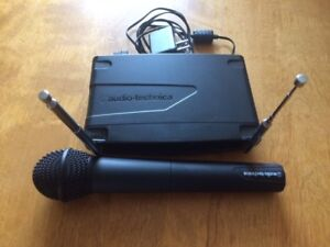 Mint Condition Wireless Mic - Audio-Technica