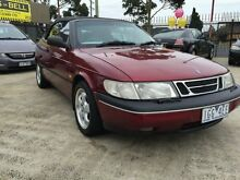 1995 Saab 900 S 2.3I Maroon 4 Speed Automatic Convertible Preston Darebin Area Preview