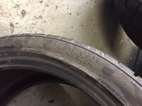 "Winter tyres for 20"" alloys (m5)"