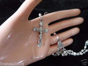 STERLING SILVER ROSARY OF SAINT ANNE DE BEAUPRE! THE MOTHER OF VIRGIN MARY!