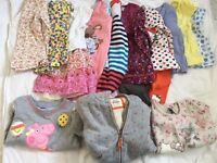 Girls small clothes bundle (17pc) 2-3yrs 50% Boden, Next, M&S, Boots Peppa Hello Kitty