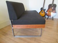 Vintage design/ Small Danish Sofa and Coffee table