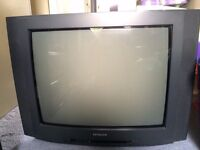 "FREE Hitachi 24"" CRT TV"