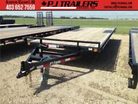 "18' Med. Duty Pj Deckover Trailer, 6"" Channel, 9.9K GVWR (L6J) Calgary Alberta Preview"