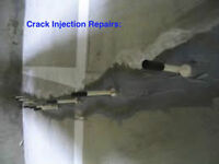 Basement Crack Repair, Inside Waterproofing  $399 - 905-517-1411