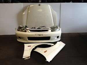 JDM HONDA CIVIC 1999+ EK9 TYPE-R FRONT END NOSE CUT HEADLIGHT