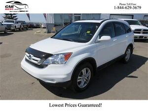 2011 Honda CR-V LEATHER HEATED SEATS, SUNROOF