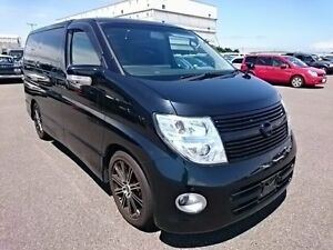 2009 Nissan Elgrand 3 HIGHWAYSTAT Black 5 Speed Automatic Wagon Southport Gold Coast City Preview