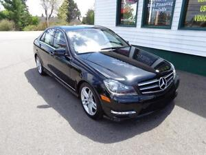 2014 Mercedes-Benz C300 4Matic for only $210 bi-weekly all in!