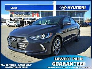 BRAND NEW 2017 Hyundai Elantra Limited