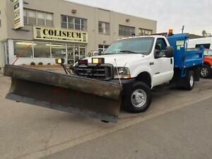 2002 Ford Super Duty F-350 4X4 **7.3L DIESEL SNOW PLOW
