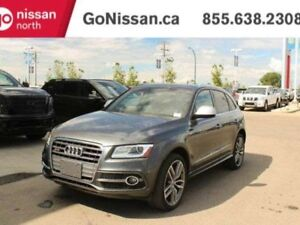 2015 Audi SQ5 3.0T TECHNIK SQ5 AWD WITH POWER SEATS AND MEMORY S