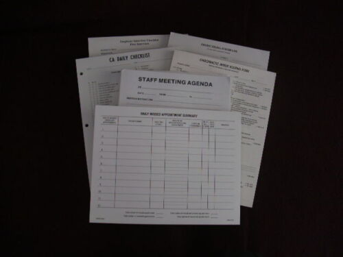 Chiropractic Misc. Forms