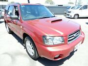 2003 Subaru Forester 79V MY04 XT AWD Maroon 4 Speed Automatic Wagon Enfield Port Adelaide Area Preview