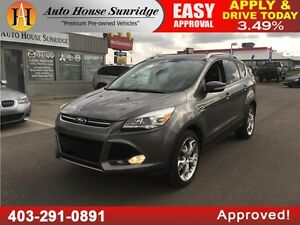 2014 Ford Escape Titanium EcoBoost,Leather,Navigation,Self Park!
