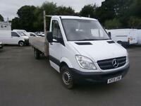 Mercedes-Benz Sprinter 313 CDI LWB 3.5t Dropside DIESEL MANUAL WHITE (2013)