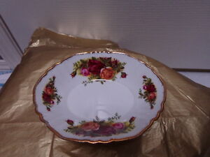 Vintage Royal Albert Old Country Roses Candy Dish