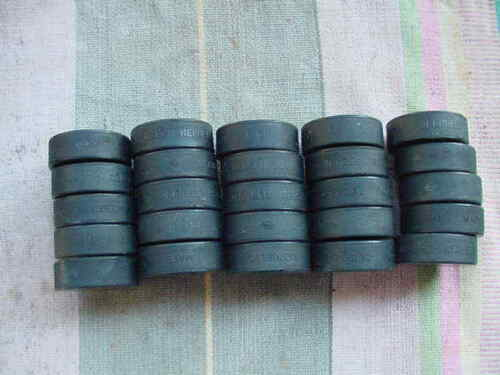 USED  Hockey Pucks