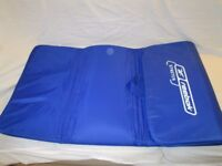 Reebok Stretch Exercise Mat with Carry Strap (Blue)