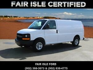 2016 Chevrolet Express 2500 1WT Rear-wheel Drive Cargo Van