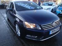 14 VOLKSWAGEN PASSAT EXECUTIVE TDI BLUEMOTION *HEATED LEATHER*SATNAV* £30 TAX
