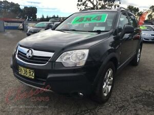 2010 Holden Captiva CG MY10 5 (4x4) Black 5 Speed Automatic Wagon Lansvale Liverpool Area Preview