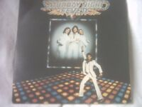 Vinyl LP Saturday Night Fever Sound Frack -Various Artists RSO Super Double 2658 123 Various Artists