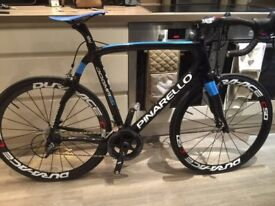 Pinarello Dogma 65.1 Think 2 replica Road Bike Sky decals Dura Ace C50 SRAM Force groupset Large
