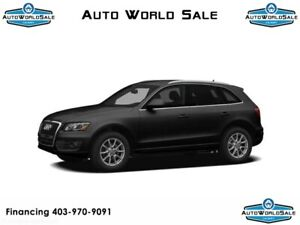 2011 AUDI Q5 2.0T PREMIUM PACKAGE | AWD | LEATHER | PANO ROOF |
