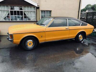 Rare1976 Mk 1 Granada Coupe 3.0 XL V6 Manual 55k Miles History Tax & MOT exempt