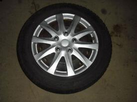 Peugeot Steel wheels and tyres. 185 X 60R X 14 4 stud