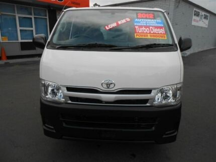 2012 Toyota Hiace KDH201R MY12 Upgrade LWB White 4 Speed Automatic Van Clyde Parramatta Area Preview