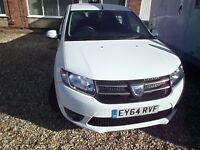 Dacia Sandero Laureate very low mileage alloys cruise control air con sat nav 11700 miles