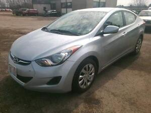 2011 HYUNDAI ELANTRA AUTO1.8L 4 CYL GAS SAVER EASY CAR FINANCING