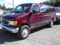 2006 Ford E350 12 Passenger Van XLT Triton Gas, AUTO ONE TON