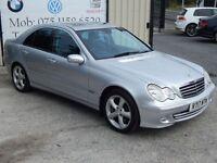 MERCEDES-BENZ C CLASS CDI AVANTGARDE SE AUTO (FINANCE & WARRANTY AVAILAB (silver) 2006
