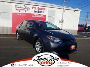 2014 Toyota Corolla LE $148.17 BIWEEKLY!!!