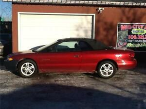 2000 CHRYSLER SEBRING CONVERTIBLE $3899