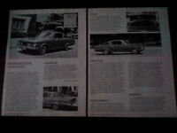 ORIGINAL BARRACUDA BROCHURES