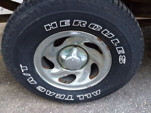 FORD F150 5 BOLT 16INCH RIMS WITH CAPS