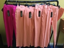 High Quality New Women's Clothing - sizes 10 to 22 - skirts, jeans, knitwear, tops and trouser sets