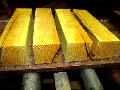 2 Osage Orange Turning Blanks Lathe Turning Block Lumber 3 X 3 X 12 Two