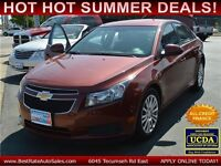 2012 Chevrolet Cruze Eco, $43/Weekly