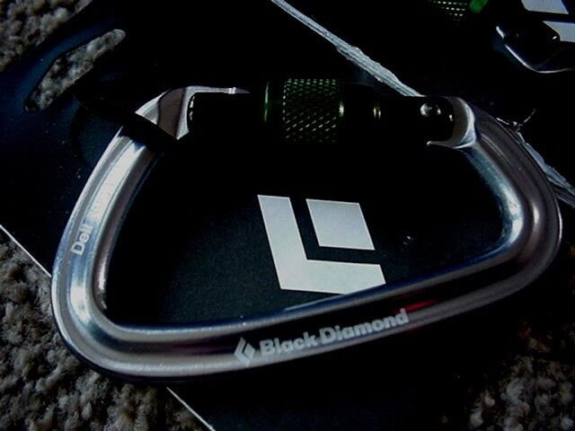 Black Diamond Positron Screwgate Carabiner