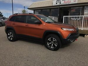 2015 Jeep Cherokee Trailhawk, ONE OWNER LOCAL TRADE!
