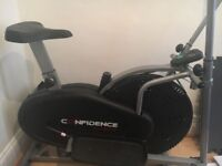 2 in 1 Cross trainer and Bike. Good as new.