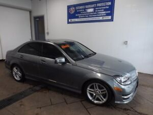 2012 Mercedes-Benz C-Class C300 AWD LEATHER SUNROOF