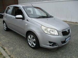 2009 Holden Barina Silver Manual Hatchback
