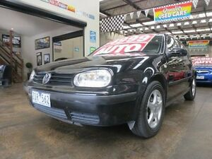 2001 Volkswagen Golf Generation 4 Speed Automatic Hatchback Mordialloc Kingston Area Preview