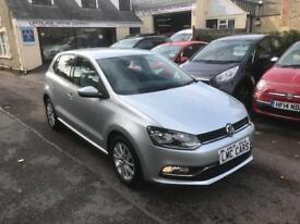 2015 (65) Volkswagen Polo 1.0 ( 60ps ) ( BMT ) ( s/s ) SE ONLY 10,000 MILES